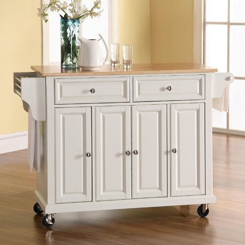 crosley kitchen island amp reviews wayfair
