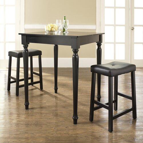 Crosley 3 Piece Counter Height Pub Table Set