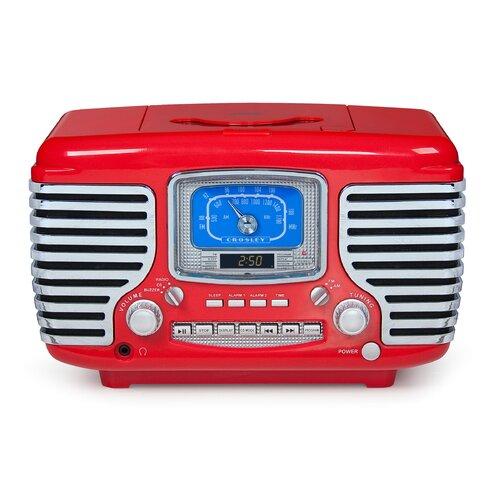Crosley Corsair CD / Radio Alarm Clock