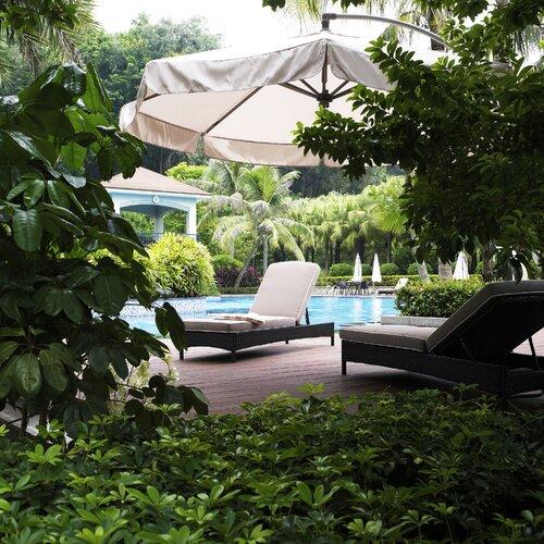 Crosley Catalina Chaise Lounge with Cushion