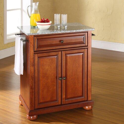 crosley alexandria kitchen island with granite top crosley furniture kf3000 alexandria kitchen island atg