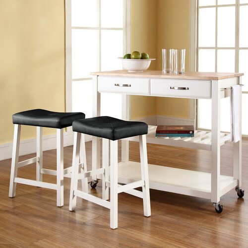 Crosley Kitchen Cart Set