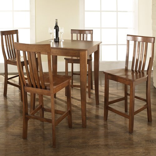 Crosley 5 Piece Counter Height Pub Set