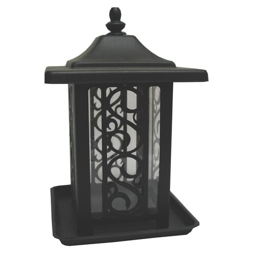 Homestead/Gardner The Garden Gate Decorative Hopper Bird Feeder