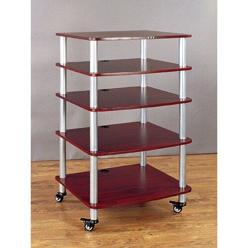 VTI AR Series 5-Shelf Modular Rack