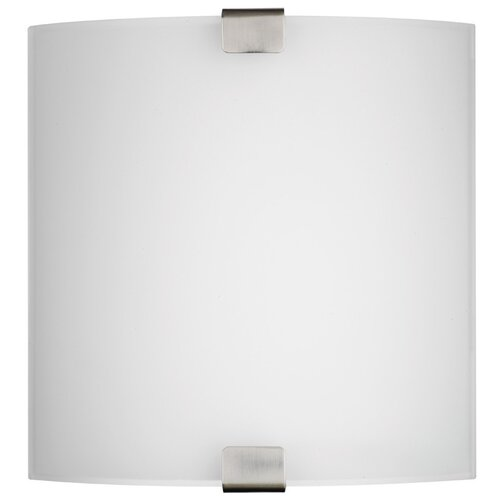 Philips Forecast Lighting Ashton 2 Light Wall Sconce with Glass Diffuser