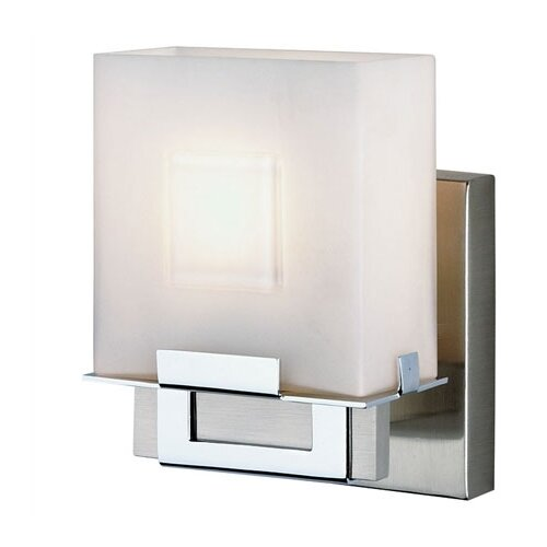 Philips Forecast Lighting Square 1 Light Vanity Wall Sconce