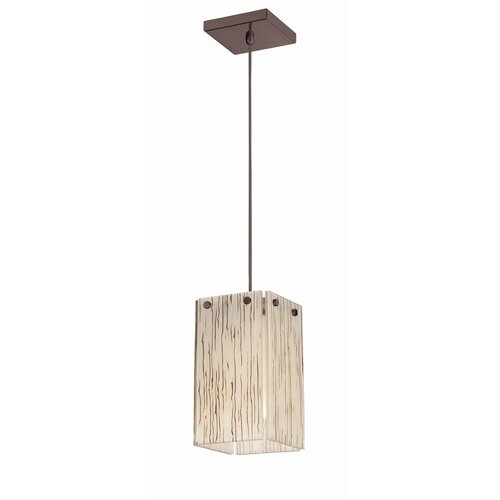 Ecoframe 1 Light Pendant