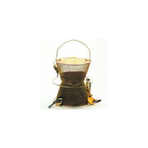 Sweet Corn Products Llc No / No Hourglass Caged Bird Feeder
