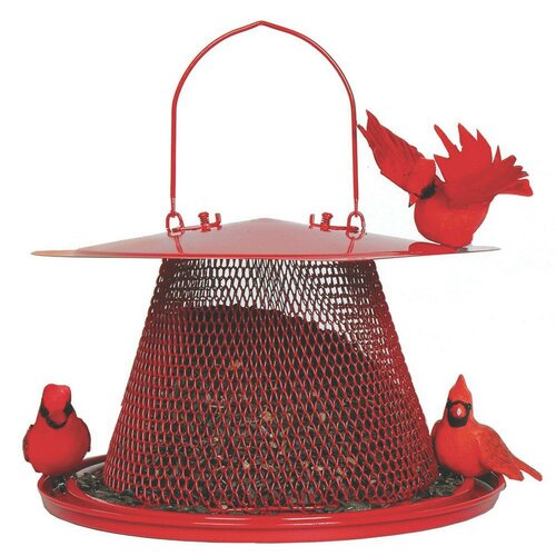 Sweet Corn Products Llc No / No Cardinal Caged Bird Feeder