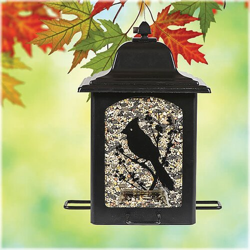 Perky Pet Birds and Berries Lantern Decorative Bird Feeder