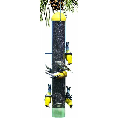 Woodstream Wildbird Upside Down Nyjer/Thistle Bird Feeder