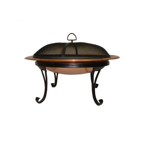 Corral Copper Folding Fire Pit
