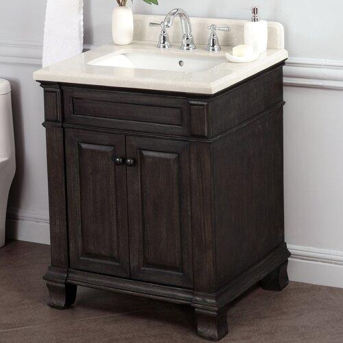 kingsley 28 quot single bathroom vanity set wayfair