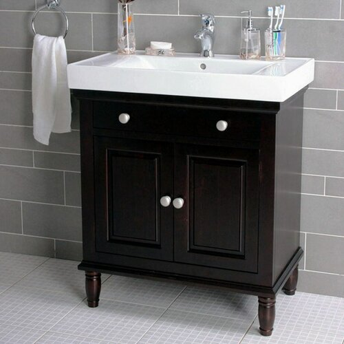 "Lanza 30"" Single Bathroom Vanity Set & Reviews 