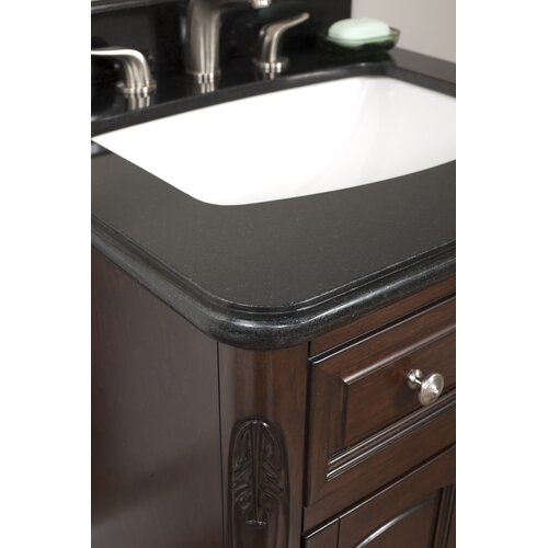 "Lanza Luton 72"" Vanity Set with Backsplash"