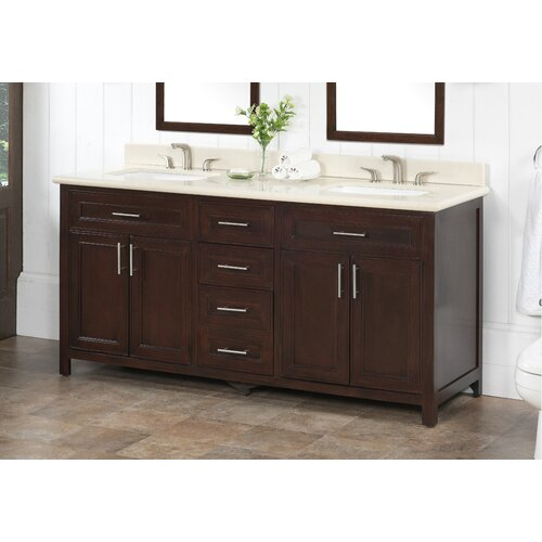 Lanza 72 Double Bathroom Vanity Set Reviews Wayfair Supply