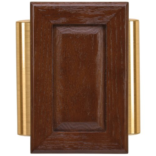Heath Zenith Wired Door Chime With Solid Beech Mahogany