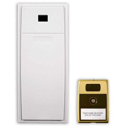 Heath-Zenith Wired Mechanical Door Chime in White