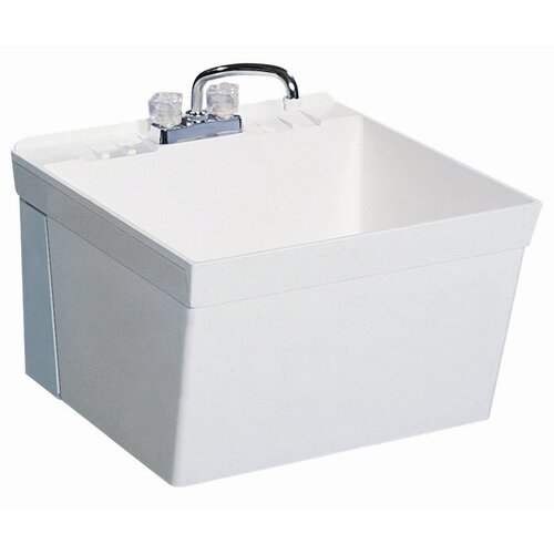 Swanstone Wall Mount Laundry Sink