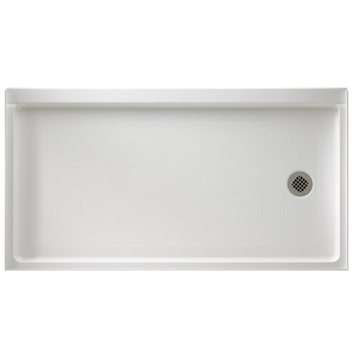 Swanstone Rectangular Retrofit Shower Base
