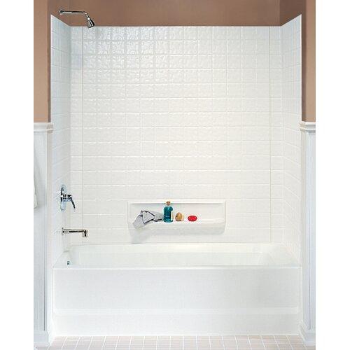 Swanstone Classics Three Panel Swantile Tub Wall Kit
