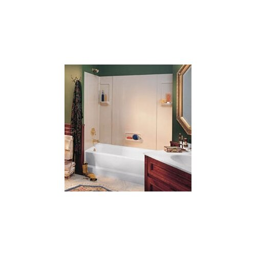Swanstone Everyday Essentials Five Panel High Gloss Tub Wall System