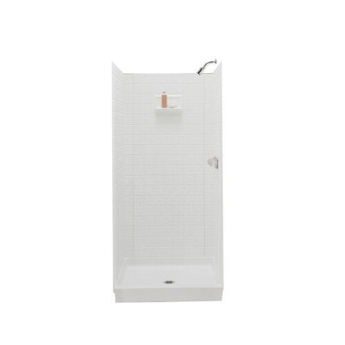 Swanstone Classics Three Panel Swantile Shower Walls