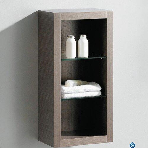 """Fresca 15.75"""" x 30"""" Linen Side Cabinet"""