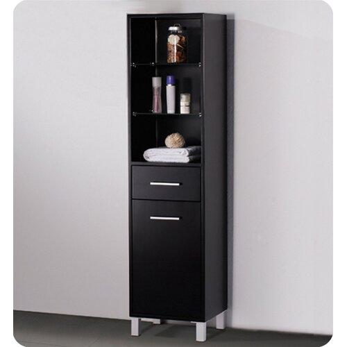 "Fresca 15.75"" x 58""  Bathroom Linen Cabinet"