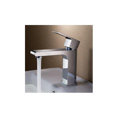 Fresca Allaro Single Handle Deck Mount Vanity Faucet
