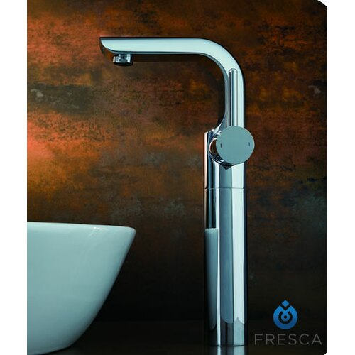 Fresca Platinum Mazaro Single Handle Deck Mount Vessel Faucet