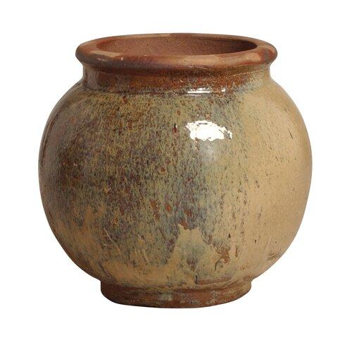 Emissary Home and Garden Hidden Village Ceramic Ball Pot