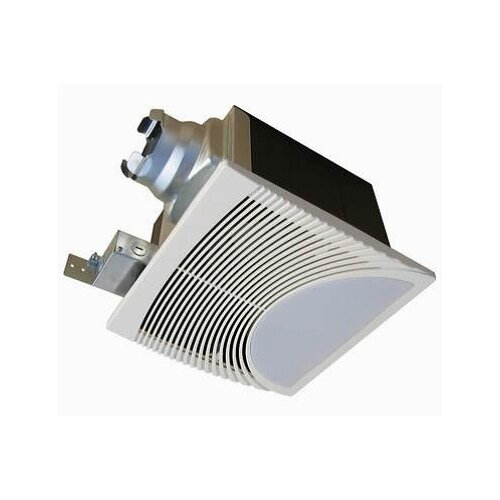 Very Quiet 100 CFM Bathroom Ventilation Fan with Light/Nightlight
