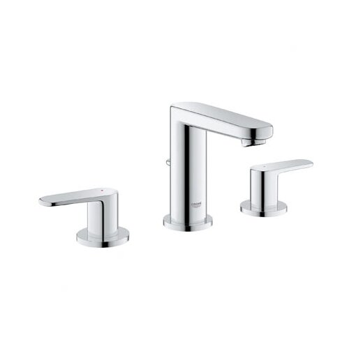 Europlus Widespread Bathroom Faucet with Double Lever Handles