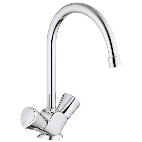 Costa Classic II Double Handle Single Hole Bar Faucet with Water Care