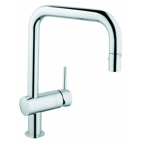 Grohe Minta High Single Handle Single Hole Kitchen Faucet & Reviews ...