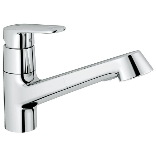 Grohe Europlus One Hanle Single Hole Pull-Out Kitchen Faucet