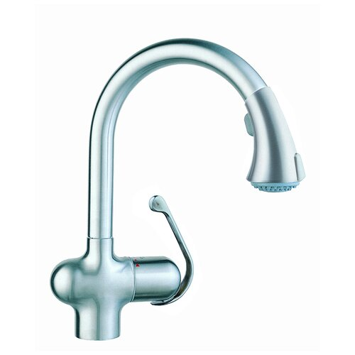 One Handle Single Hole Hot Water Dispenser Kitchen Faucet with Watercare