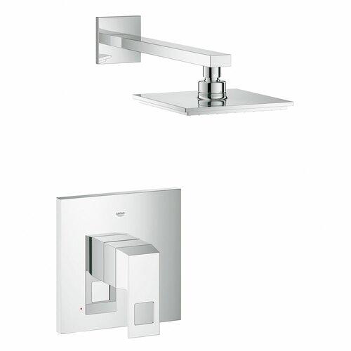 Grohe eurocube shower combination volume control shower for Grohe eurocube bathroom faucet