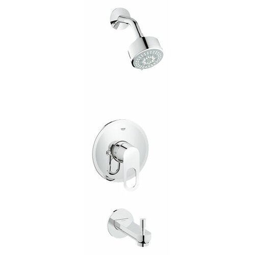 Grohe BauLoop Single Level Handle Shower / Tub Combination Trim