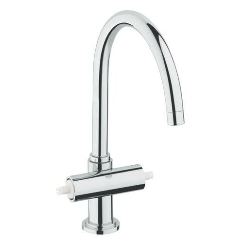 Atrio High Profile Double Lever Handle Widespread Kitchen Faucet