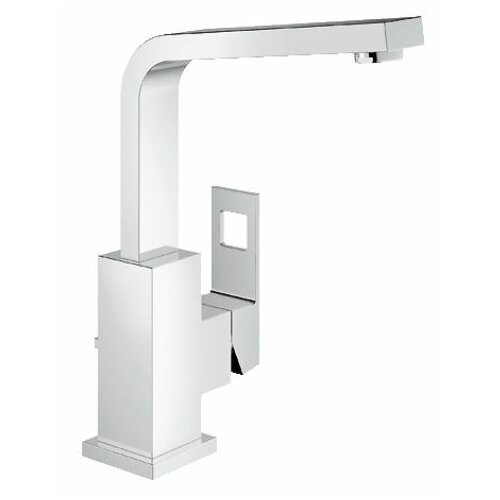 Eurocube Centerset Bathroom Sink Faucet with Single Handle