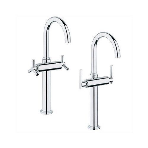 Grohe Atrio Single Hole Vessel Faucet with Double Cross Handles