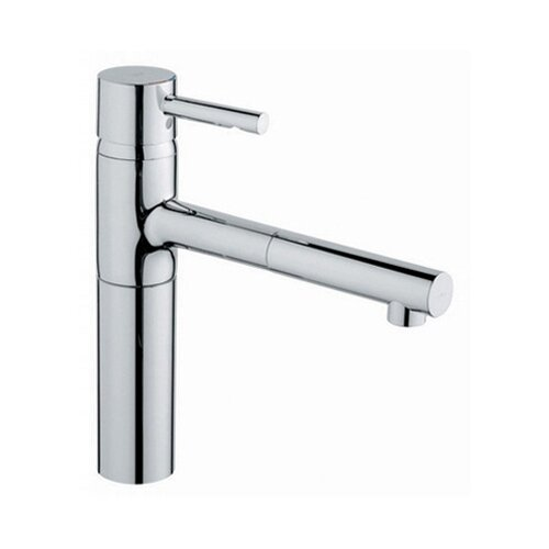 Essence Low Profile Single Handle Single Hole Kitchen Faucet with Pull Out Spray