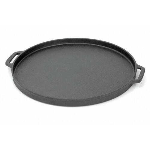 La cuisine cookware cast iron 30 cm frying pan in red for La cuisine 29 x 26cm cast iron grill pan