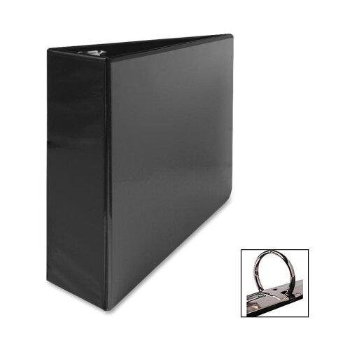 "Business Source Standard View Binders, 3""Capacity, 8-1/2""x11"", Black"