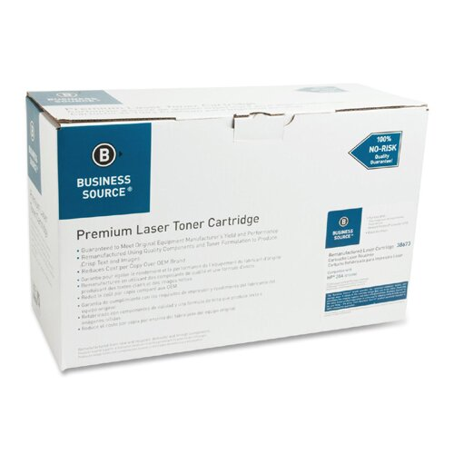 Business Source Toner Cartridge, 12,000 Page Yield, Black