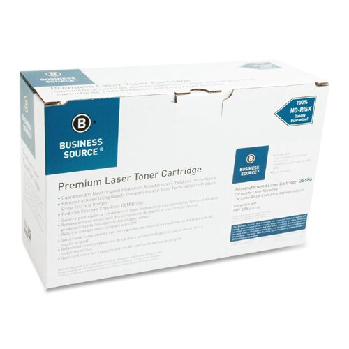 Business Source Laser Toner Cartridge, 6000 Page Yield, Black