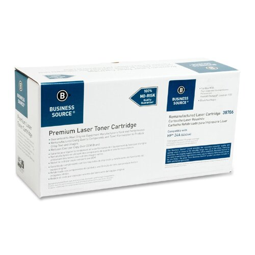 Business Source Toner Cartridge, 2500 Page Yield, Black